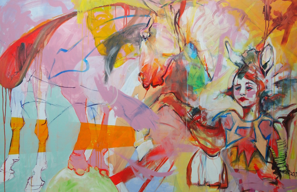 Untitled (Circus Girl & Friends), 2012