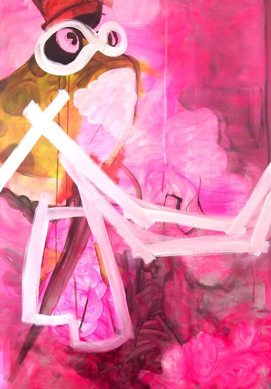 Untitled (pink frog), 2013
