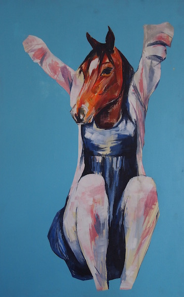 Margaux as a pony, 2010