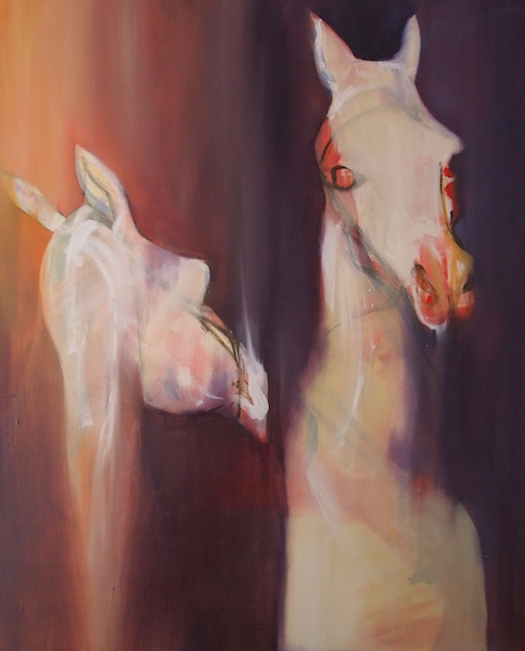 Untitled (two horses), 2011