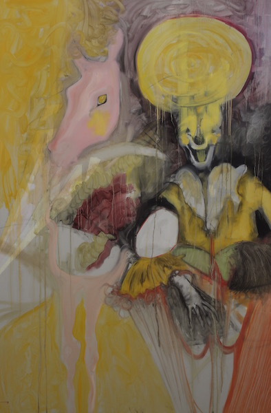 Untitled (pink pony and clown), 2012