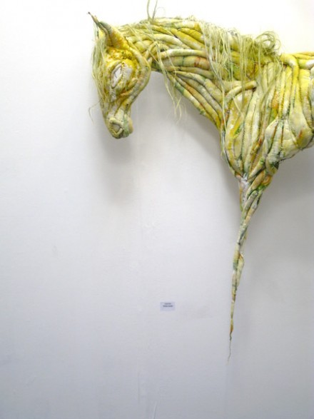 Untitled (yellow pony) 2009
